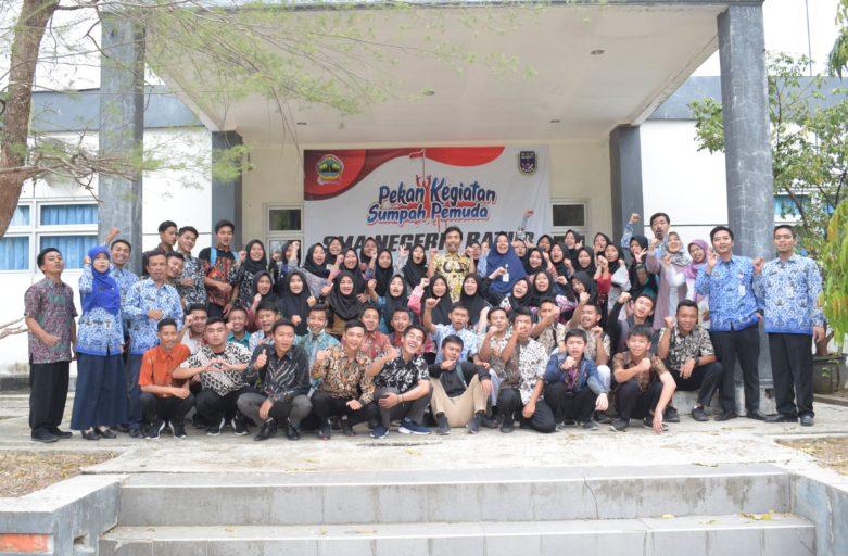 Siswa SMA N 1 Batur Rasakan Kuliah Sehari di Politeknik Banjarnegara