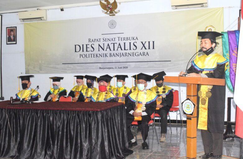 Dies Natalis XII, Polibara Gelar Rapat Senat