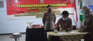 Politeknik Banjarnegara Teken MoU Kerjasama Sarsipol